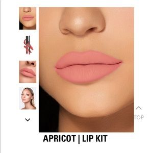 Kylie NWT lip kit in apricot